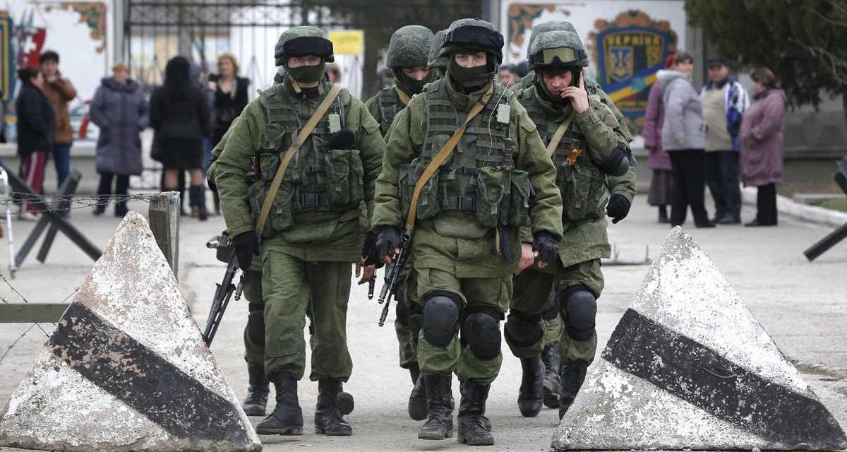 Pęłzająca wojna Kremla przeciwko Europie