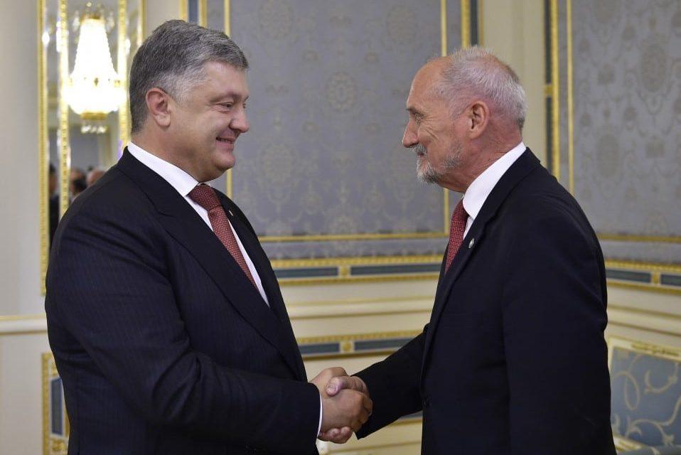 Szef MON: Bez Ukrainy Europa nie będzie pełnowartościowa