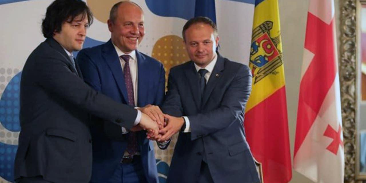 """W Kijowie powstało Zgromadzenie Międzyparlamentarne """"Ukraina-Gruzja-Mołdawia"""""""