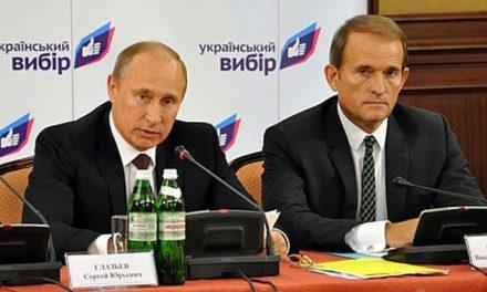 Na Ukrainie wszczęto sprawę karną z artykułu o zdradę stanu wobec Wiktora Medwedczuka, bliskiego przyjaciela Putina