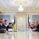 Nowy prezydent Ukrainy wezwał USA do zaostrzenia sankcji wobec Rosji
