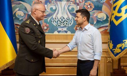 Pierwsze nominacje prezydenta Zełenskiego