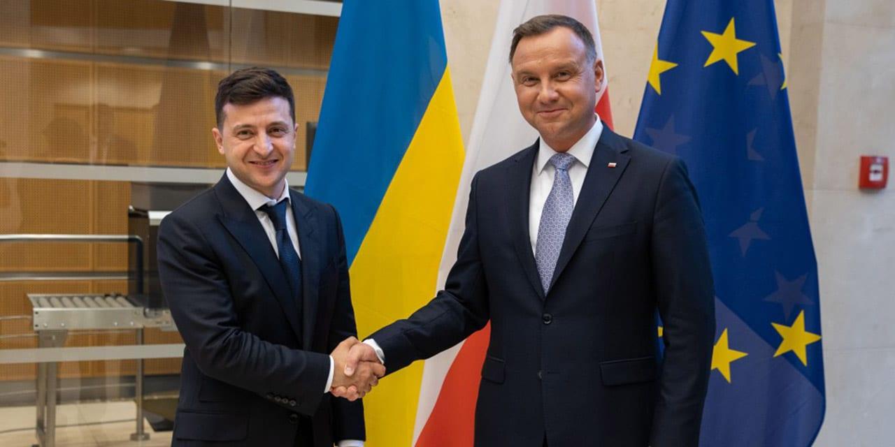 Polska nieustannie wspiera proeuropejskie i euroatlantyckie aspiracje Ukrainy. Spotkanie Prezydentów Polski i Ukrainy