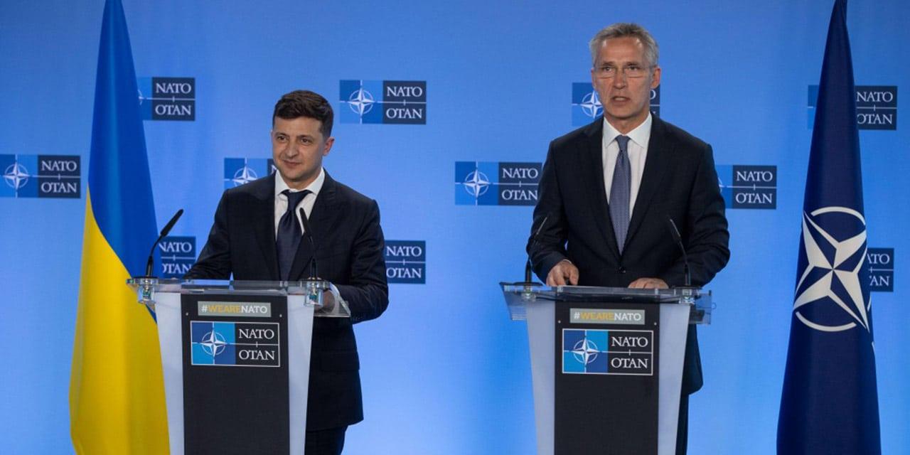 Prezydent Zełenski w Brukseli: Kurs na integrację Ukrainy z NATO pozostaje bez zmian
