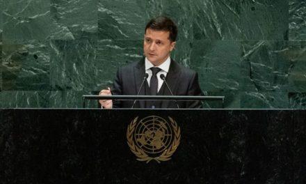 Prezydent Ukrainy w ONZ: póki na Ukrainie trwa wojna, nikt na świecie nie może czuć się bezpiecznie