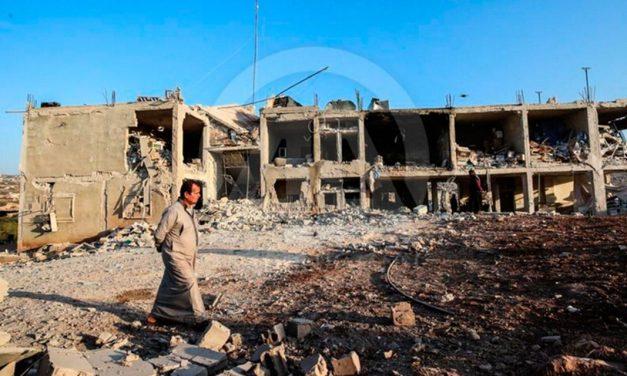 Rosyjskie lotnictwo zbombardowało szpital położniczy i dziecięcy w Syrii
