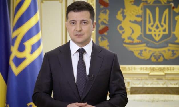 """""""Nie zamierzam rozmawiać z terrorystami"""". Zełenski o rozmowach z pachołkami Putina w Donbasie"""