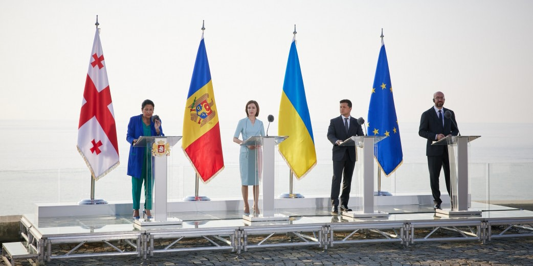 Szczyt w Batumi. Ukraina, Mołdawia i Gruzja podpisały deklarację o integracji europejskiej